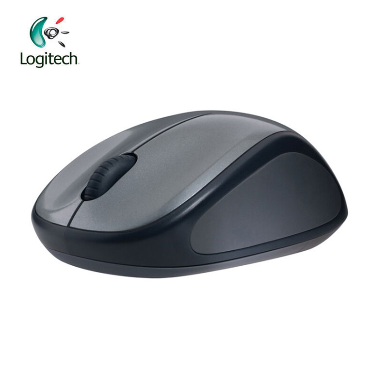 Logitech M235 Wireless Gaming Mouse with Nano Receiver 1000DPI Optical Ergonomic for Mac OS/Windows Support Agency Verification rapoo 1090p 5 8ghz wireless 1000dpi optical mouse with usb receiver black 1 x aa