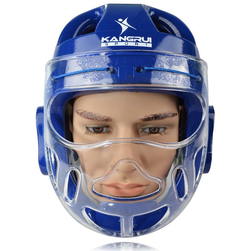 High Quality Professional Men/Women Taekwondo Karate Sanda Wushu Boxing Helmets Full-covered Fight Head Guard Training Equipment  цены