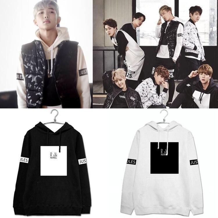 Новинка 2015 г., осенняя флисовая толстовка kpop BTS Bangtan для мальчиков, jungkook Photo same