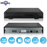 Hiseeu 8CH Full HD 5MP CCTV NVR For Fisheye Camera VGA HDMI Output H 264 Network