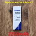 2950 mah bateria do telefone móvel para iphone 5 iphone 5g iphone5 iphone5g