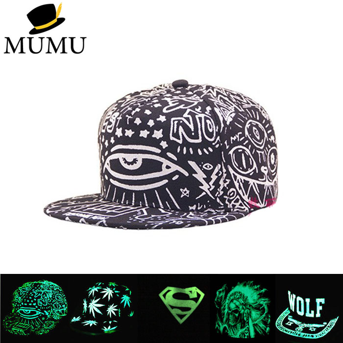 Multi-style Women Men Fluorescence hip hop Polo hats Luminous Gorras sport baseball caps Casquette superman light snapback hat brand winter hat knitted hats men women scarf caps mask gorras bonnet warm winter beanies for men skullies beanies hat