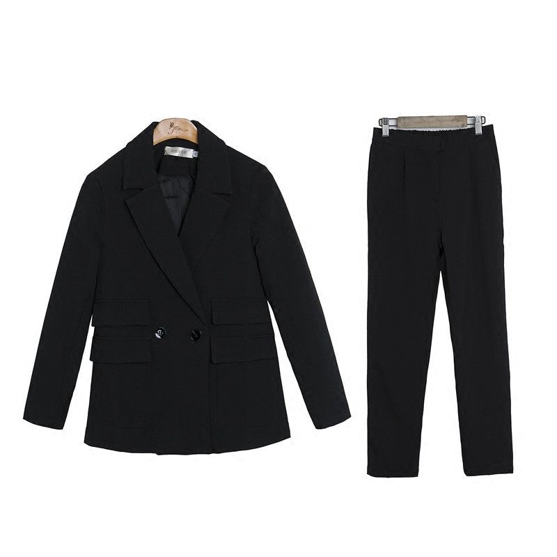 1 Deux Olcommuter Lâche Costume 2019new Tempérament pièce Version Femmes Mode Pantalon 2 Pour Veste Décontracté Coréenne De Petit p6qHaH