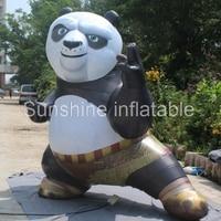 Прямая продажа с фабрики китайский сокровищ гигантские реплики мультфильм Кунг фу надувные Panda для рекламы