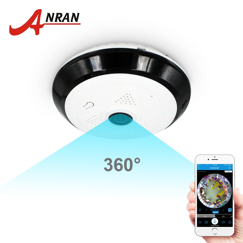 ANRAN 960P Wifi Camera 360 Degree Panoramic Camera