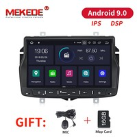 MEKEDE 2+16G IPS DSP Android 9 Car Multimedia player dvd GPS Navigation Autoradio For Lada/vesta car Radio stereo BT FM wifi