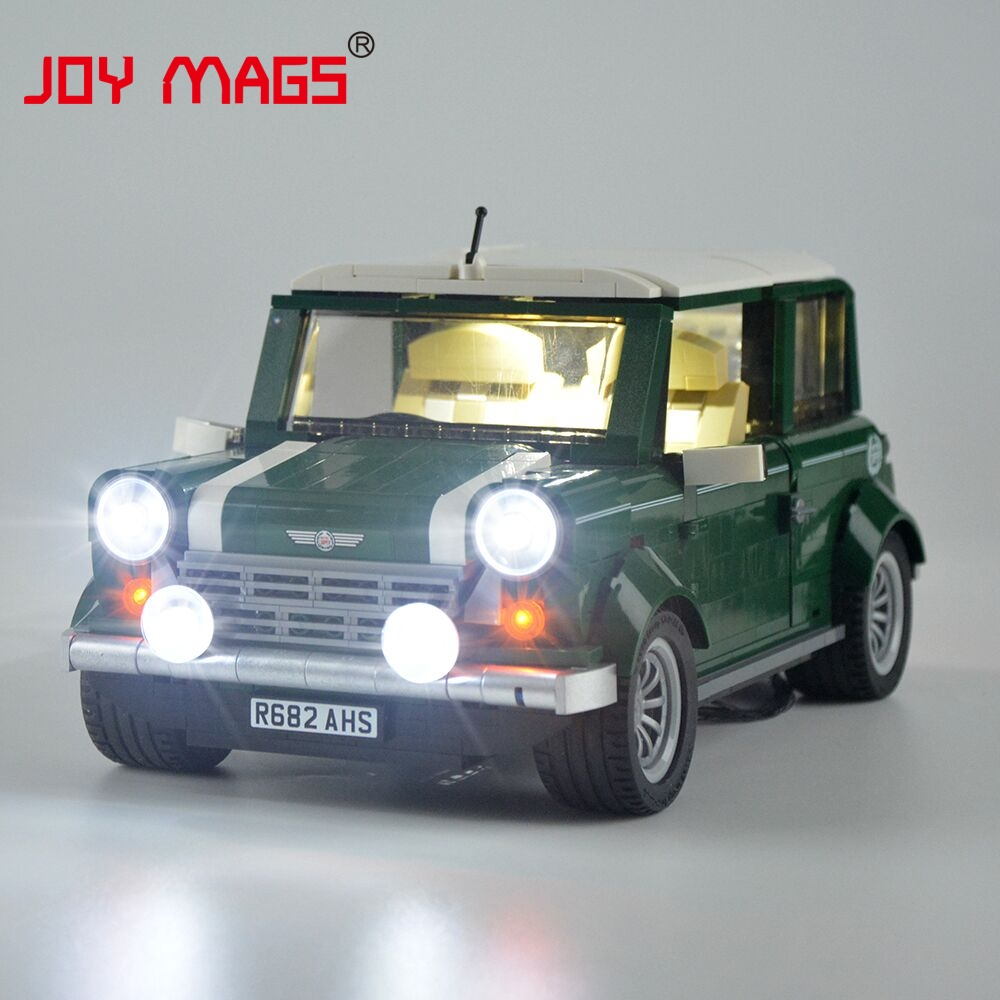 Joy Mags Led Light Kit Only Set For Creator Expert Winter Toy Lego 10249 Exclusive Shop 10242 Mini Cooper Model And 21002 Building Block