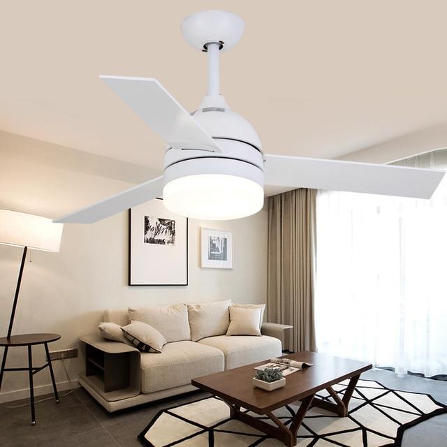 tlcommande ventilateur industriel led classique loft moderne noir blanc design scandinave ventilateur de plafond pour chambre salon - Ventilateur De Plafond Pour Chambre