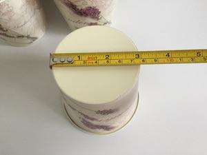 Image 5 - 웨딩 장식에 대 한 6 개/몫 D10.5xH10CM 미니 꽃병 라벤더 센터 드 테이블 철 꽃 냄비