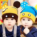 2015 Korean Cartoon Rabbit Skullies & Beanies Children knitted Hats baby girls Winter Hat age for 8 months -3 Years
