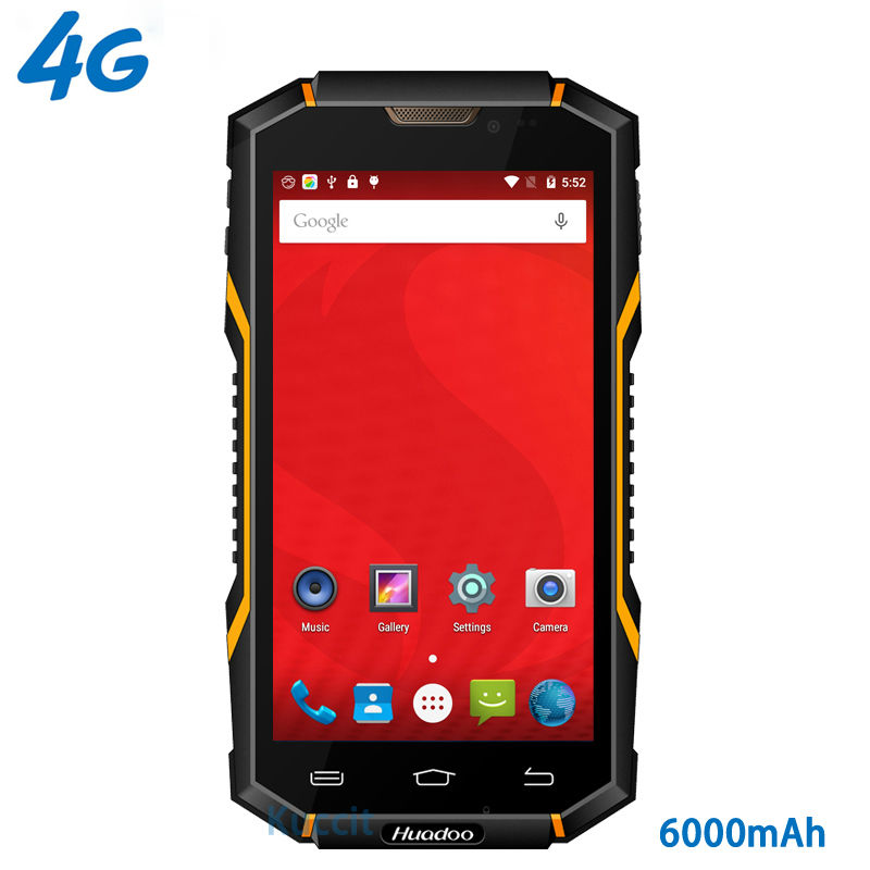 Original huadoo hg06 ip68 robusto teléfono impermeable 4g lte smartphone android
