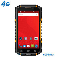 original Huadoo HG06 IP68 Rugged Waterproof Phone 4G LTE Smartphone Android Shockproof Mobile phone 6000mAH MTK6735 5.0