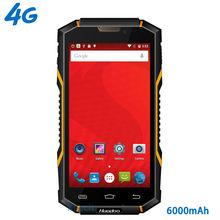 original Huadoo HG06 IP68 Rugged Waterproof Phone 4G LTE Smartphone Android Shockproof Mobile phone 6000mAH MTK6735 5.0″ GPS NFC