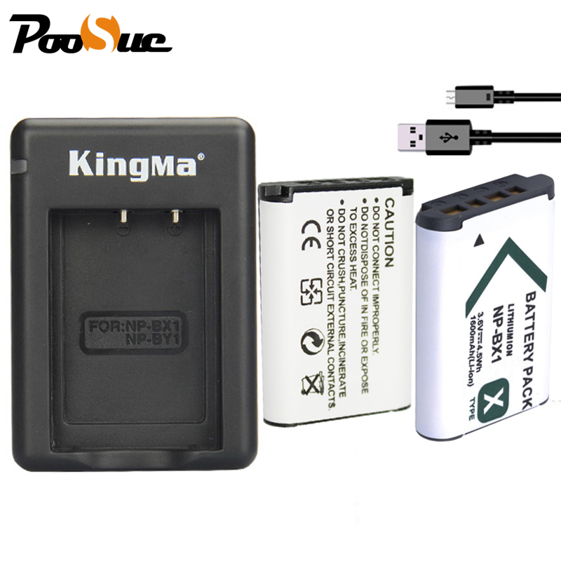 NP BX1 NPBX1 NP-BX1 batería + Dual lados cargador USB para Sony DSC-RX100 HDR-AS15 AS100V