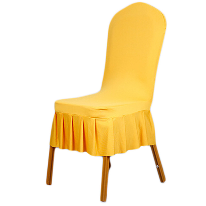 High Quality Home Spandex Wrinkle Dining Room Chair Covers Machine Washable Restaurant For Decoration Covering In Cover From Garden