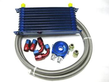 Performane Trust 10Row  for Modified Car Oilcooler kits,10Row Japanese Style Oilcooler Kits
