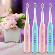 Electric Bamboo Toothbrush Sonic Wave Rechargeable Top Quality Head Replaceable Personal Care Appliances Oral Hygiene