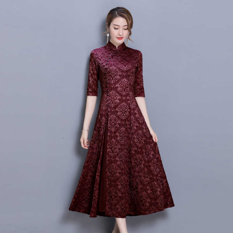 2019 ao dai dress aodai vietnam dress for women ao dai oriental dress vietnam clothing vietnam traditional dress lace elegant