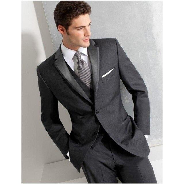 Three-piece Groom Wedding Suits Fashion Slim  Men Wedding Suits Formal Suits  Groom Suits Tuxedos (Jacket + Pant +Vest +Tie )