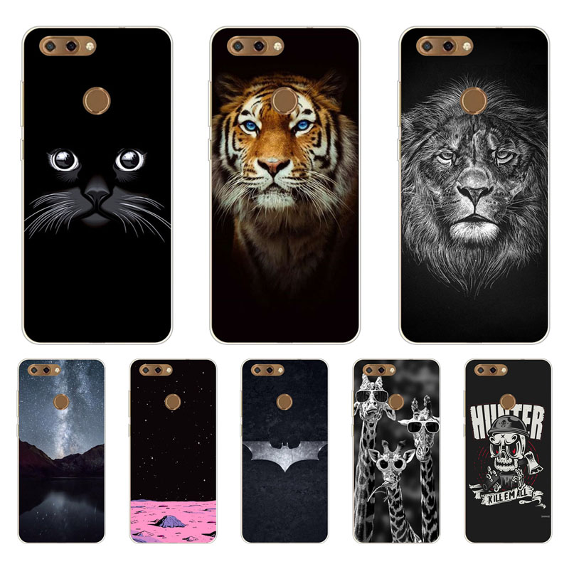 Zte blade V9 Case,Silicon tigon beast Painting Soft TPU Back Cover for Zte blade V9 Protect Phone cases shell