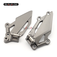 For KAWASAKI EX250R/EX300 NINJA 250/300 Z250 Z300 Motorcycle Front Left Right Footrest Foot Pedal Peg Mount Bracket