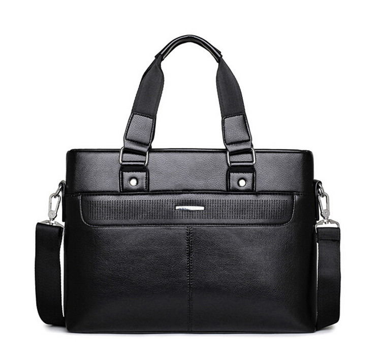 Hot  Men Casual Briefcase Business Shoulder Bag Leather Messenger Bags Computer Laptop Handbag Bag Men's Travel Bags  LJ-452 2016 men casual briefcase business shoulder bag leather messenger bags computer laptop handbag bag men s travel bags two colors
