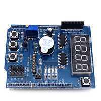 Free Shipping Smart Electronics Stepper DC Motor Driver Shield L298P Driver Expansion Development Board For Arduino