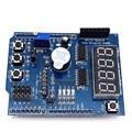 Frete grátis Inteligente Eletrônica Stepper DC Motor Driver Escudo L298P L298 Driver de Expansão Placa de Desenvolvimento para Arduino Diy Kit