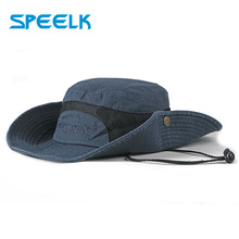 New Spring Unisex Sun Hats Men Women Solid Color Bucket Hats Large Bri
