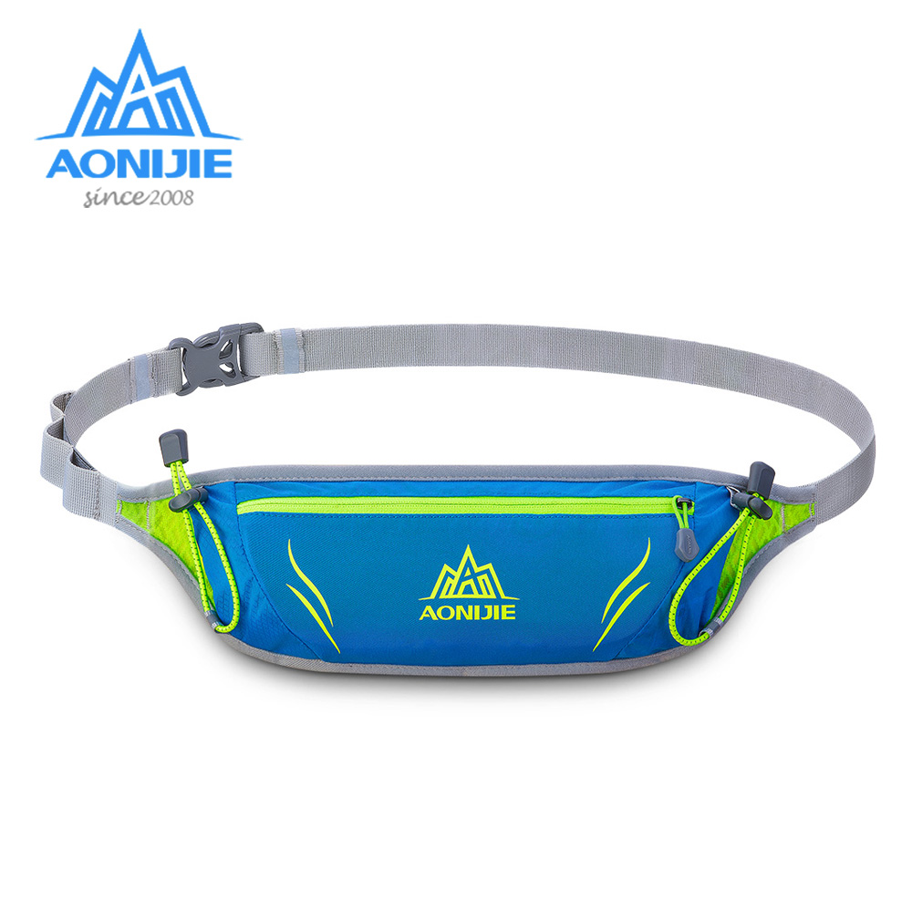 AONIJIE E915 Jogging Waist Bag Fanny Hydration Pack Travel Pocket Key Wallet Pouch Phone Holder Chest Marathon Bag Running Belt