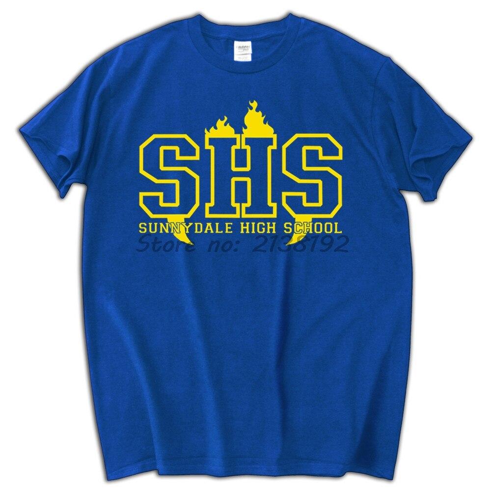 Sunnydale High School Shs T Shirt Men Top Tees Summer New Arrived