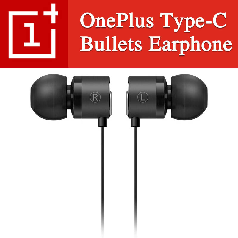 Original OnePlus Type-C Bullets Earphones OnePlus Bullets 2T In-Ear Headset With Remote Mic Oneplus 6T 7 Pro 7pro Mobile Phone
