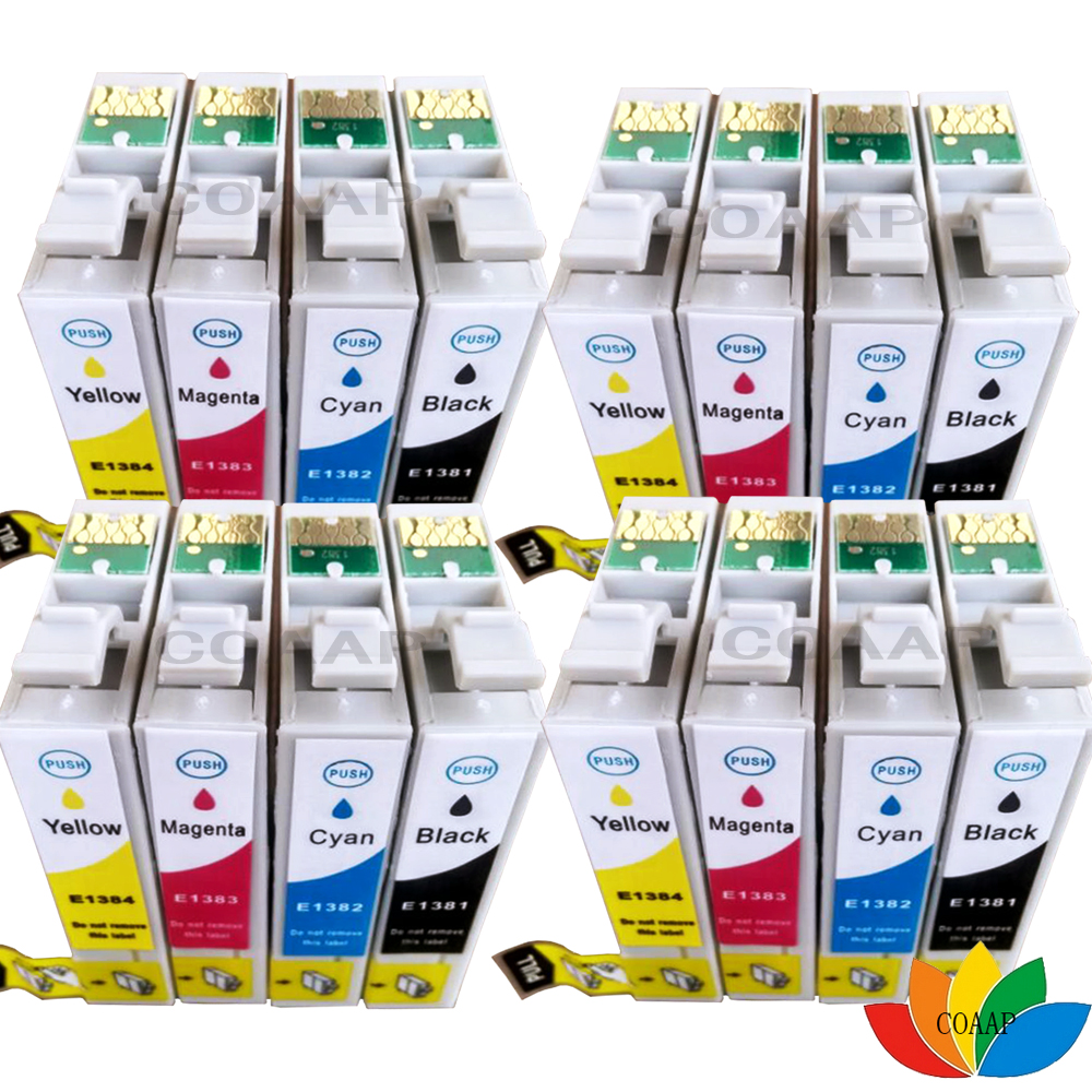 Refillable Ink Cartridges T16X For EPSON WF-2540WF