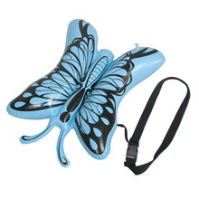 UXCELL Blue Butterfly  Water Sports Inflatable Swimming Bag W Black Waist Belt