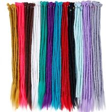 24 дюйма 1-10 шт./лот дреды, косы синтетические волосы плетение наращивание волос твист косы дорогой мягкий ужас