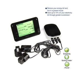 Oszczędzanie energii Monitor z trzema czujnikami oszczędzanie energii analizator, liczniki energii dla systemu ogrzewanie na podczerwień