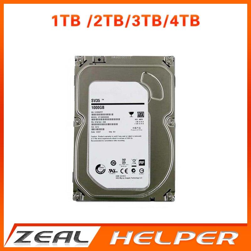 bilder für Seagate 1 TB/2 TB/3 TB/4 TB SATA HDD 3,5 zoll 7200 rpm SATA3.0 Harte Für Cctv-kamera DVR NVR Sicherheitssystem und PC