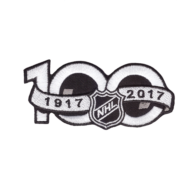 f35eea852 National Hockey League NHL 2017 Seaso Patch 100th Anniversary Jersey Sleeve  Logo Emblem Stanley Cup-in Patches from Home   Garden on Aliexpress.com ...