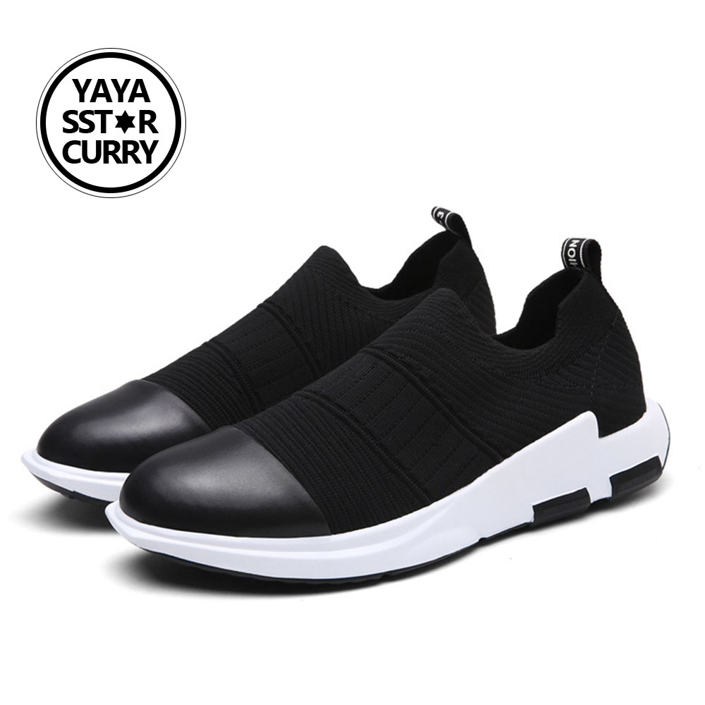 2018 YAYA SSTAR CURRY Mens Speed Star Cushion Running Shoes Breathable Textile Sneakers Light Sports Shoes