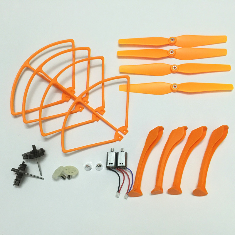 Syma x8c x8w x8g Spare Parts Motors Engine Blades Propeller Protectors Frame landing skid Main Gear Motor Frame Motor cap syma x5uc x5uw rc drone spare parts engines gear propeller landing gear skid protectors ring lampshade accessories