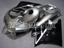 MOTORCYCLE FAIRING ABS BODYWORK SET FOR HONDA CBR600 F2 1991 1992 1993 1994 91-94 Injection Free Shipping Silver Black