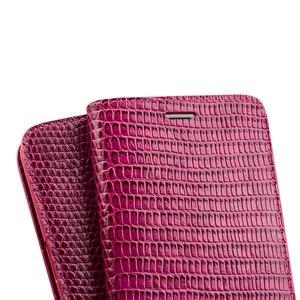 Image 2 - QIALINO Genuine Leather Phone Trường Hợp cho iPhone 8 Thời Trang Handmade Khe Cắm thẻ Phụ Nữ Sang Trọng Lật Bìa cho iPhone8 Cộng Với 4.7/5.5 inch