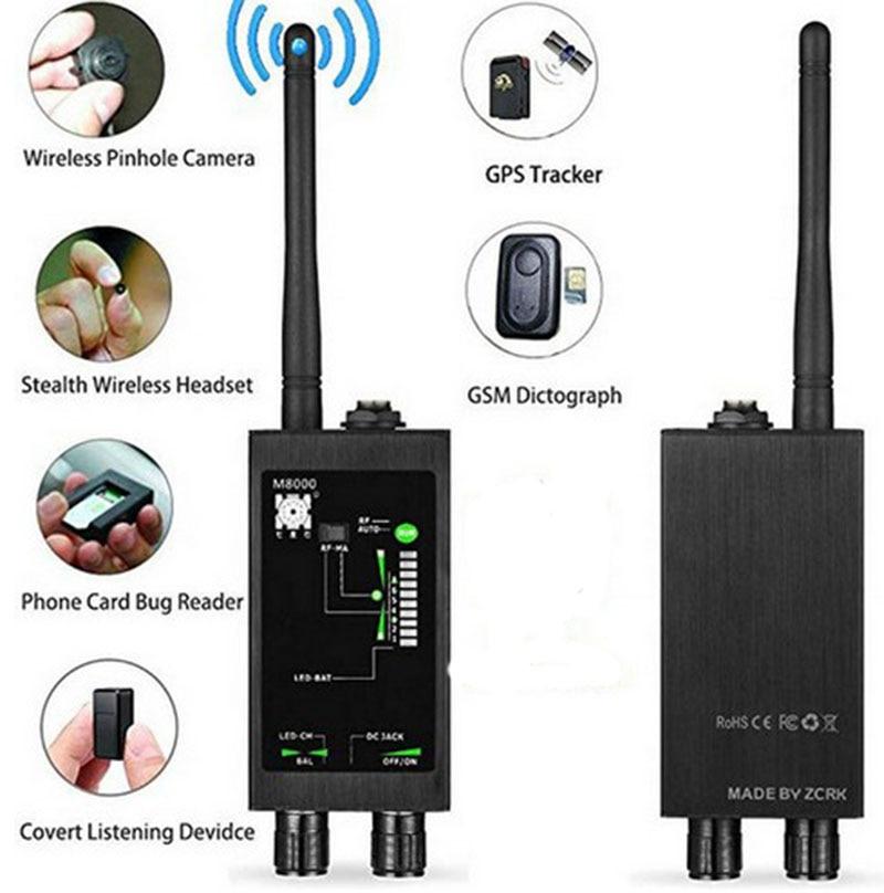 Détecteur M8000 détecteur de caméra X traqueur GPS détecteur de caméra Scanner détecteurs Anti-espion lentille CDMA GSM dispositif détecteur moniteur - 6