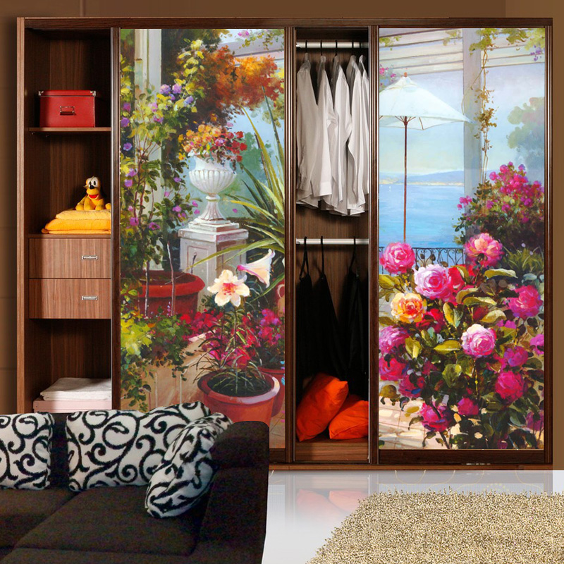 Decorative Self Adhesivestatic Cling Frosted Stained Window Film