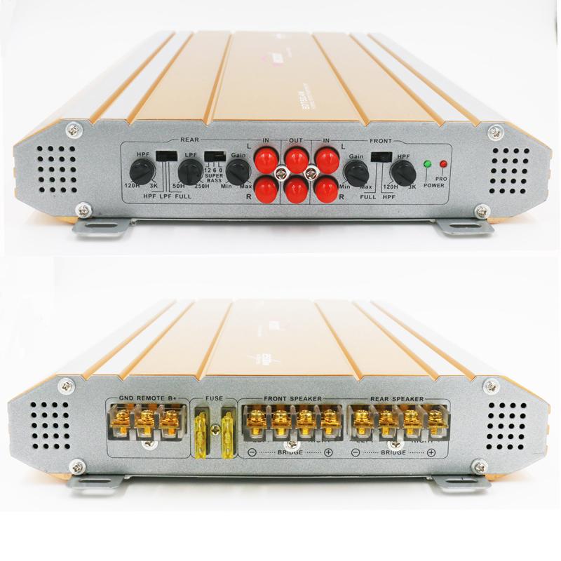 Car 4-channel audio subwoofer high-power amplifier 1
