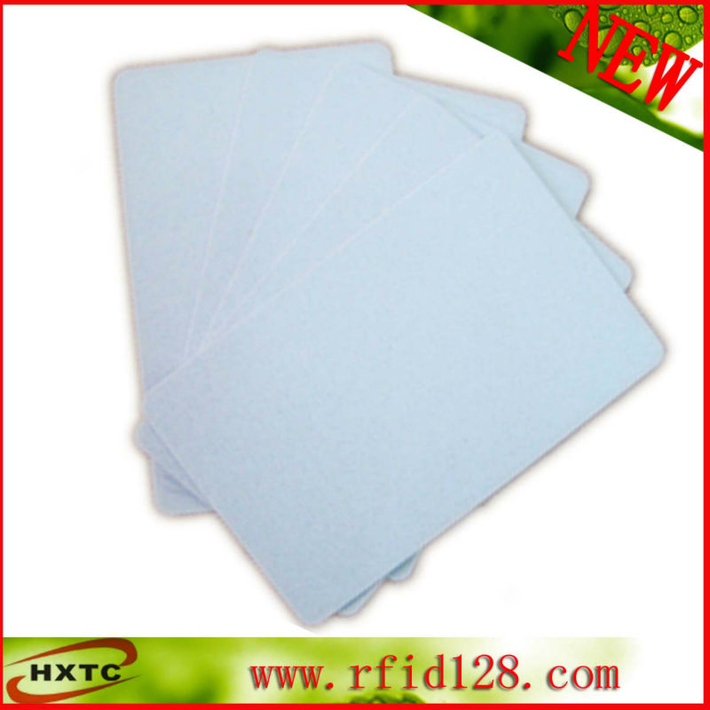 100PCS/Lot 13.56MHZ RFID NFC Smart IC Blank PVC Printable Card # S50 Chip For E pson C anon Plastic card printer 20pcs lot double direct printable pvc smart rfid ic blank white card with s50 chip for epson canon inkjet printer