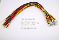 100 SETS Mini Micro JST 2 0 PH 3 Pin Connector Plug With Wires Cables 300MM