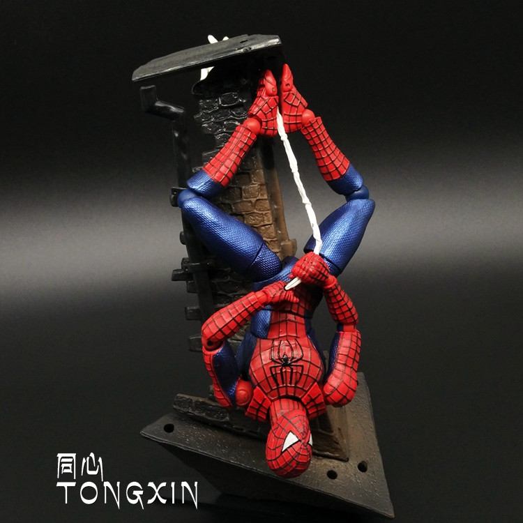 The Amazing Spiderman Yamaguchi FIGMA Movie Edition Movable Hands To Do Model Scene Dolls T64 kinderline international amazing spiderman 2 smbb ut1 9621