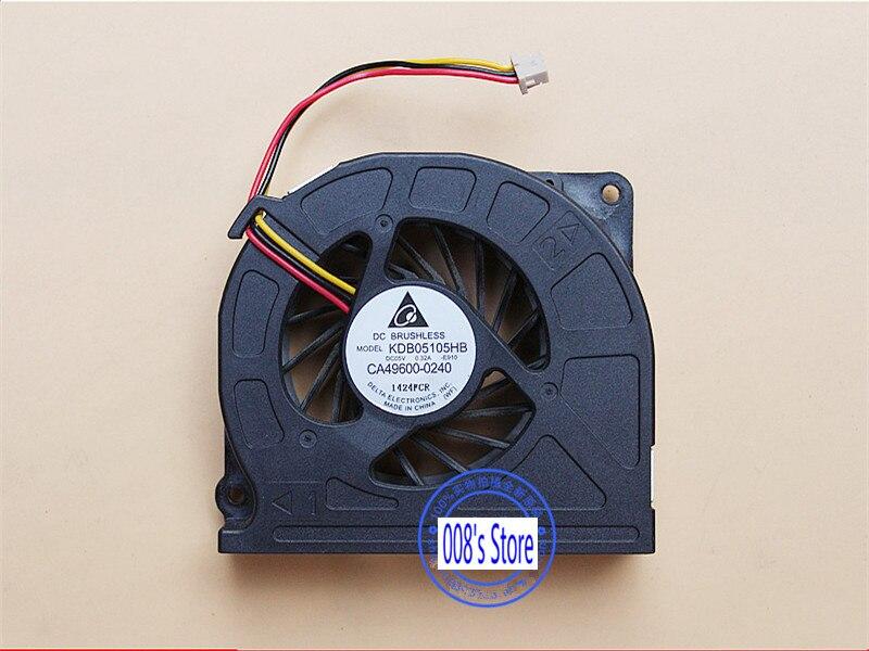 CPU Cooler Fan For Fujitsu S760 E751 E752 T731 A572 AH550 AH551 AH701 TH700 E780 T730 T900 T901 KDB05105HB E910 CA49600-0240