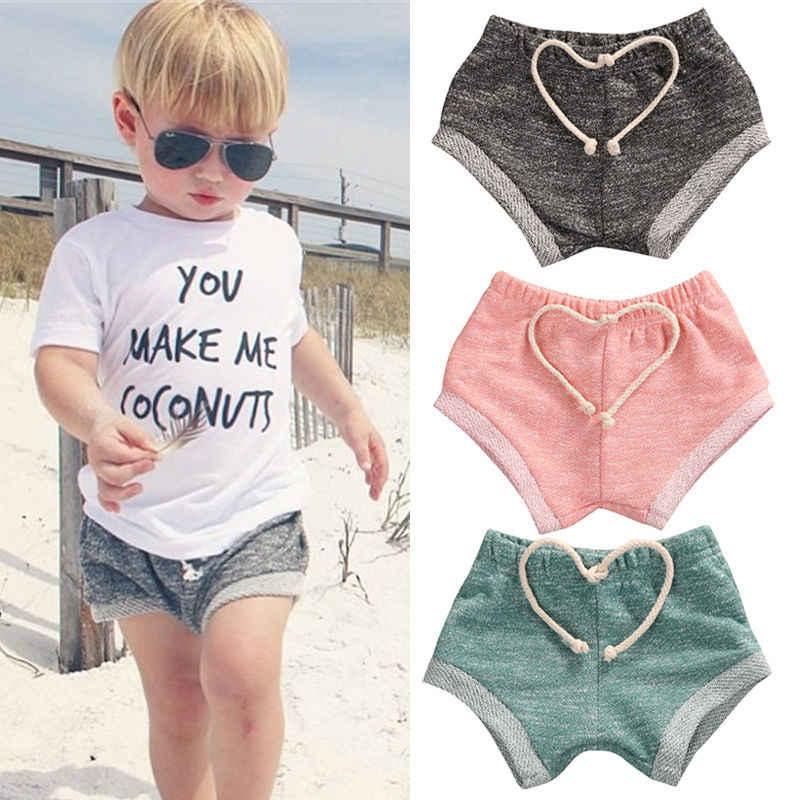 Peuter Kids Baby Boy Meisjes Hot Pants Katoen Gestreepte PP Kinderen Broek Bodems Kids Meisje Jongens Katoen Kleding